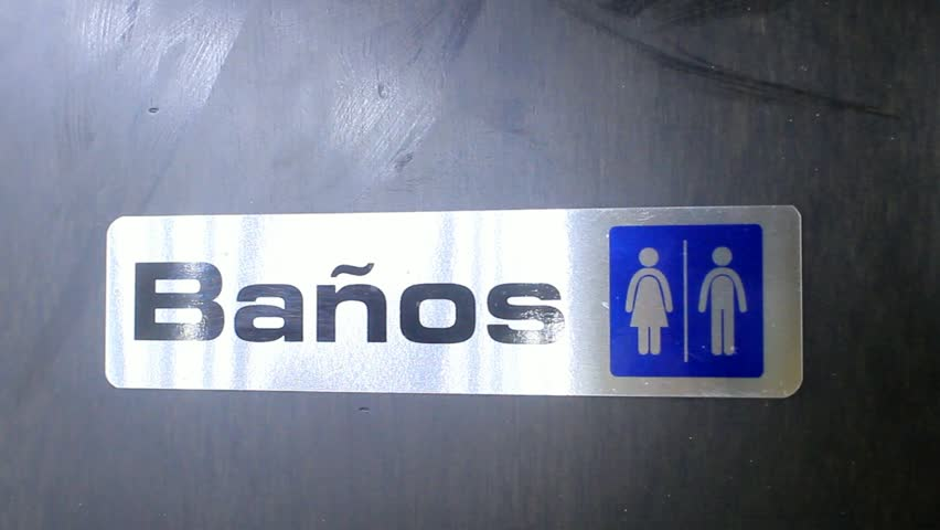 Bathroom Signs English And Spanish pingyao, china - circa 2011: woman's restroom sign in chinese and