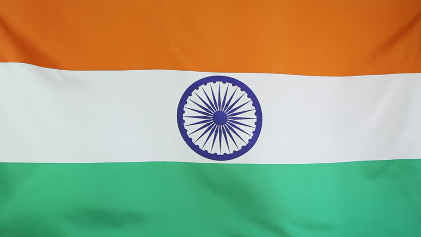 For Indian Flag Hd Animation: India Flag. Nice Flag Animation In Dirty / Grunge Style