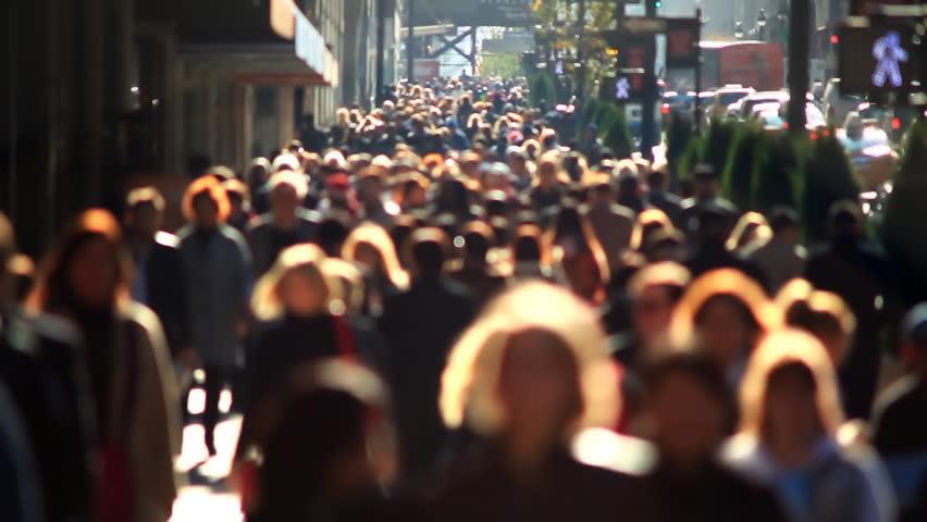 Pedestrians in New York City | Shutterstock HD Video #1694050