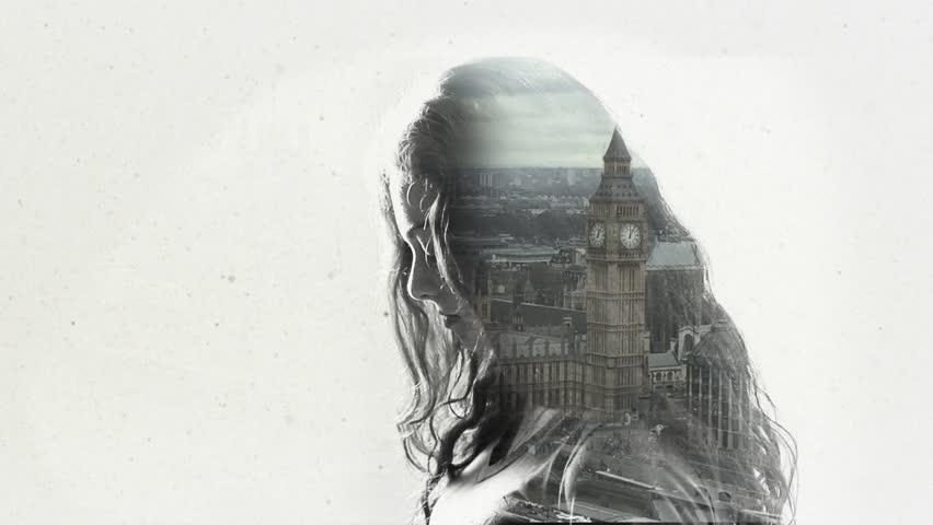Double exposure - London | Shutterstock HD Video #17104234