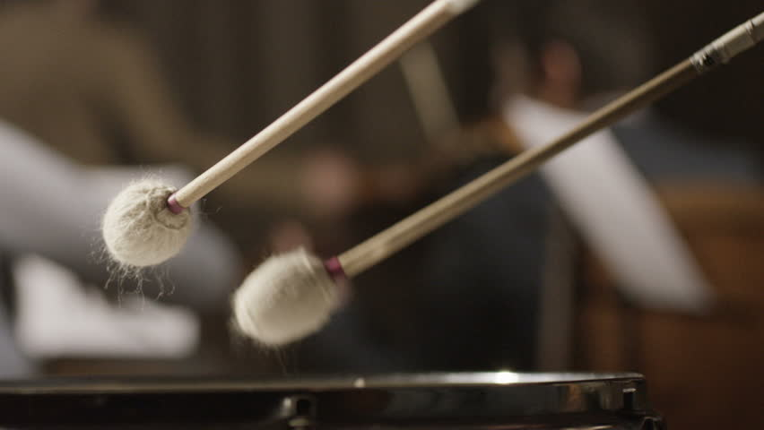 Symphonic drum bass performance. Shot on RED EPIC Cinema Camera in slow motion.