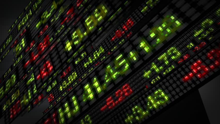 Stock Market Tickers Price Data Animation | Shutterstock HD Video #1769615