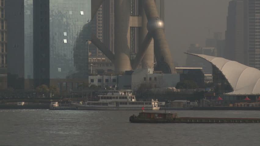 Shanghai Pudong Grand Skyline