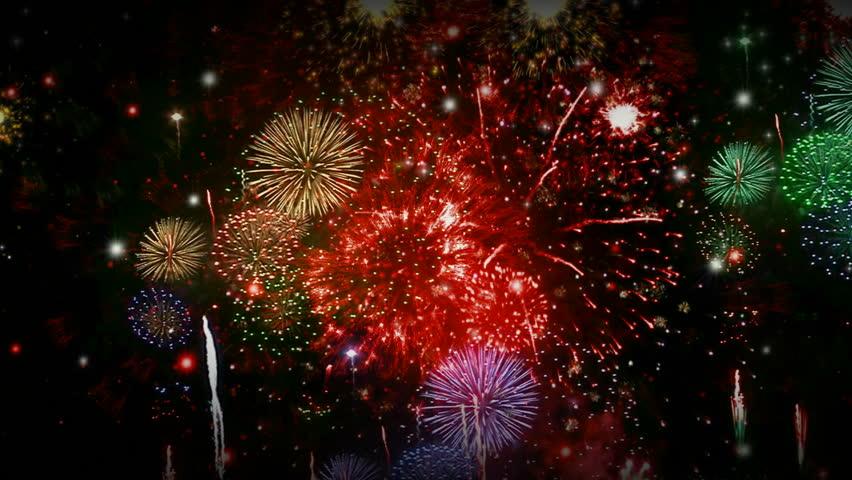 Fireworks Stock Footage Video 7241467 - Shutterstock