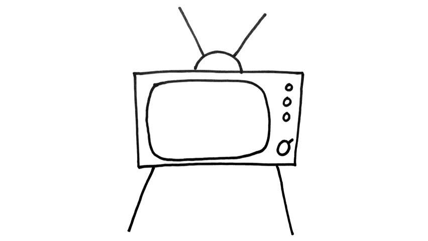 Media Television And Telecommunication Business Animated Icons Set ...