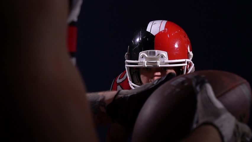 Header of American Football Game