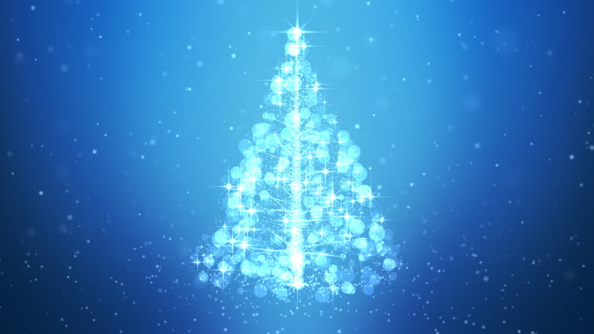 Loopable Animated Christmas Tree Background. | Shutterstock HD Video #18566189