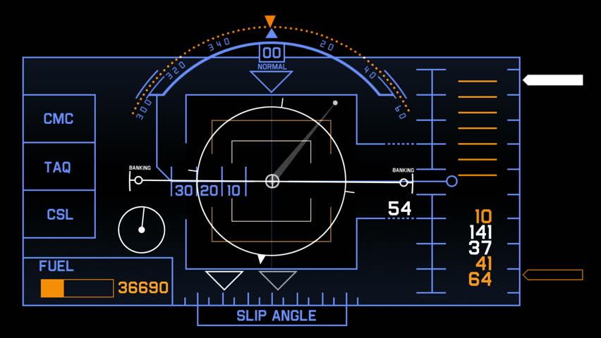 Aviation Radar Gps Navigation Screen Display Amp Number