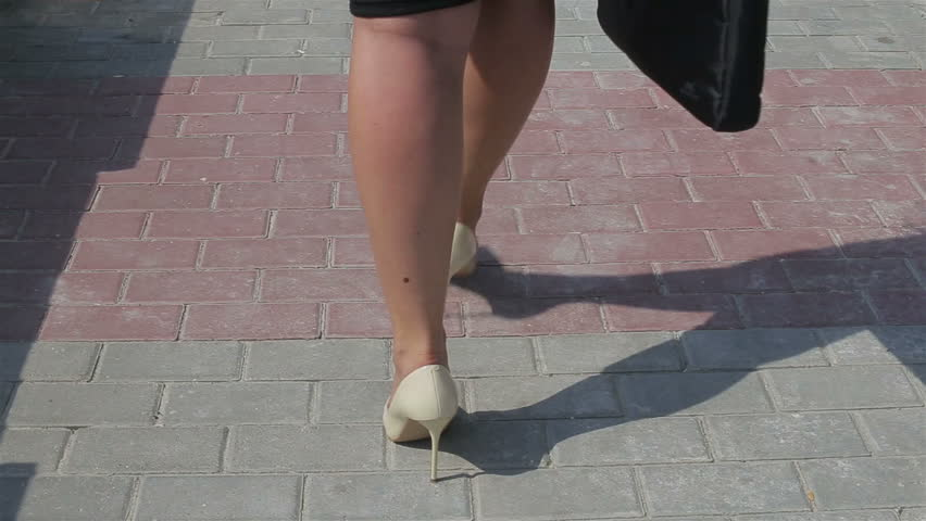 Legs businesswoman close-up | Shutterstock HD Video #18733796