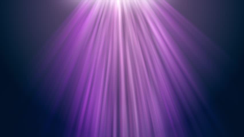 HD motion video background loop - Purple light streaks