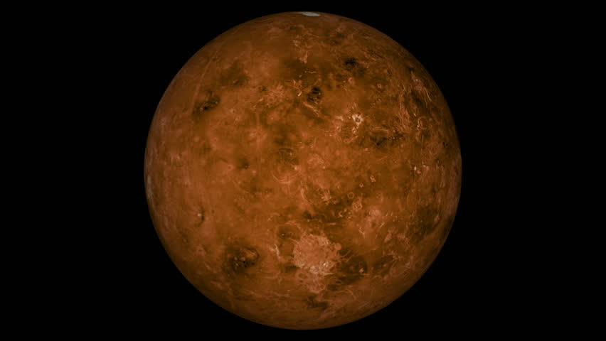 venus planet rotating moving animated - photo #38