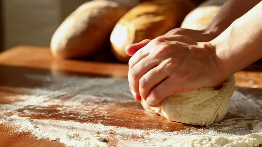 CU: Fresh Baked Bread Stock Footage Video 17984473 - Shutterstock
