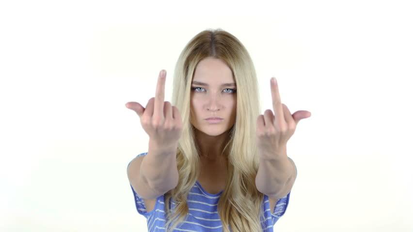 Chica en chica dedo follando