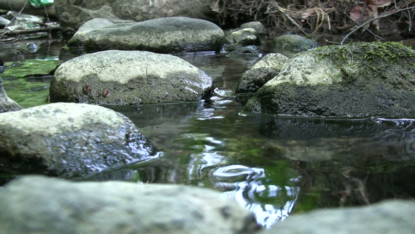 Image result for Picture of Rocks and Flowing Water