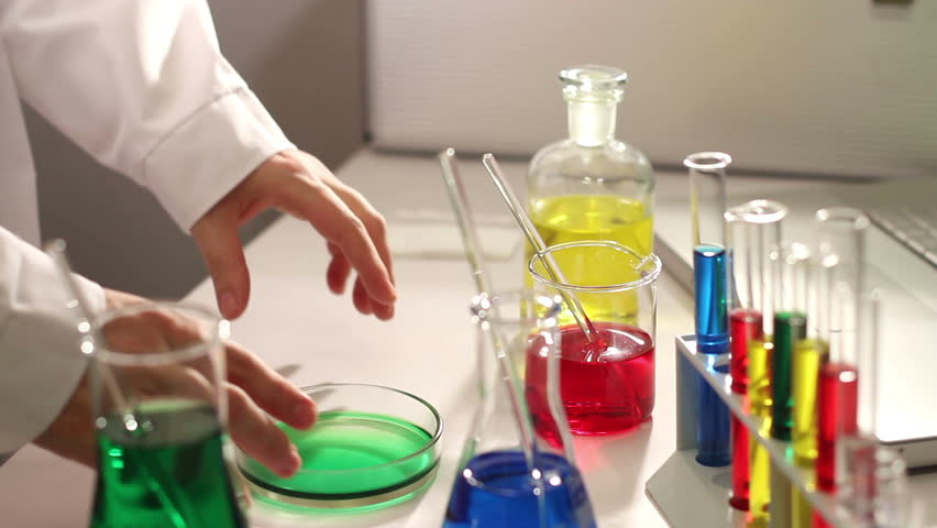 Lab Assistant Working In Laboratory Stock Footage Video 2923978 ...