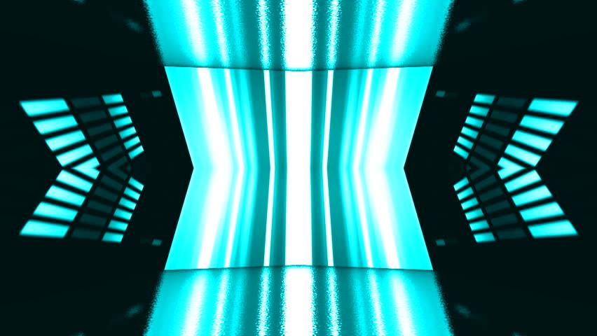 Sound waves equalizer bars moving