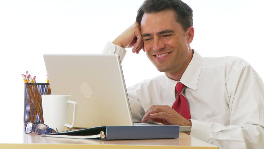 Image result for laughing desk worker