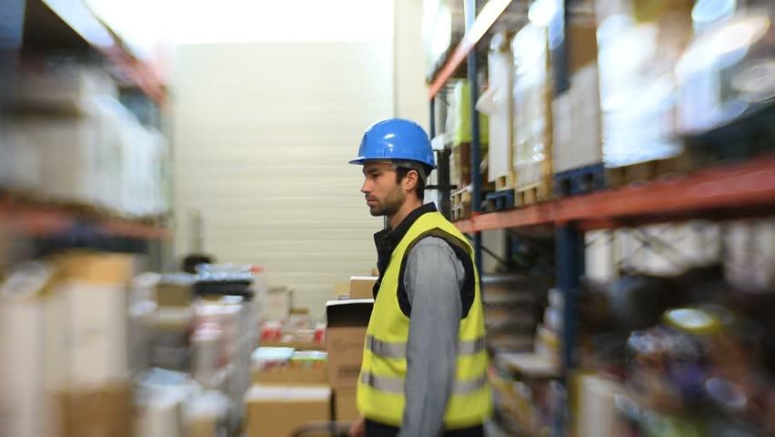 Warehouseman Stock Footage Video - Shutterstock
