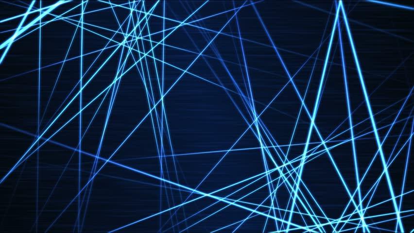 Moving through Light/Laser Beams Animation Animation - Loop Blue   Shutterstock HD Video #21521926
