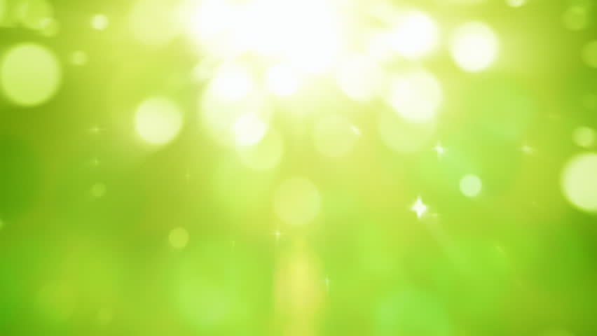 Natural light particles green motion background seamless loop | Shutterstock HD Video #21564025