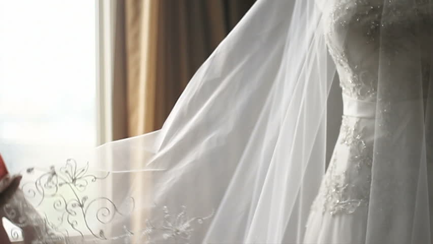 Sheer White Curtains Blowing In The Wind Stock Footage Video ...