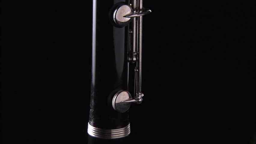 Header of clarinet