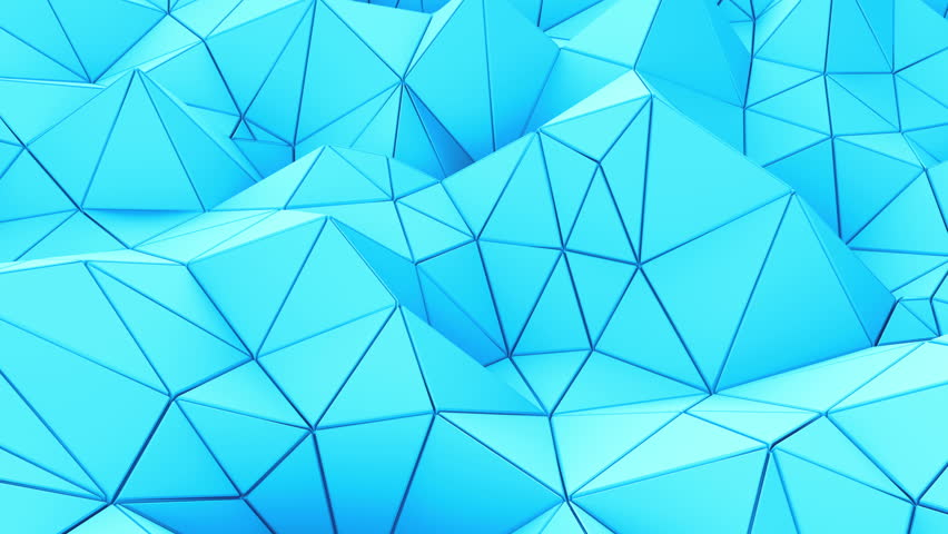 Loop video. Futuristic background with lines. Abstract low-poly, polygonal triangular mosaic background for web, presentations and prints. Grunge surface. 3d Rendering. Realistic 3D design template.   Shutterstock HD Video #21657142