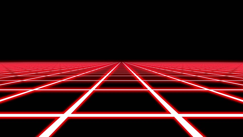 Infinite Flight Over Red Neon Square Grid Abstract VJ Motion Background Loop | Shutterstock HD Video #21741430