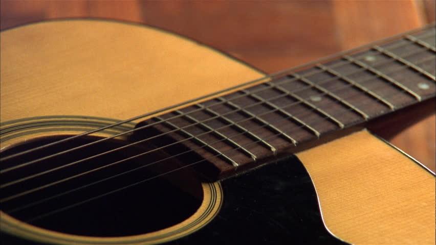Header of Acoustic Guitar