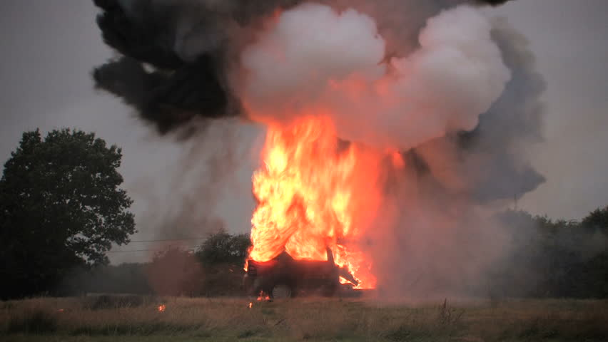 Exploding Car, HD