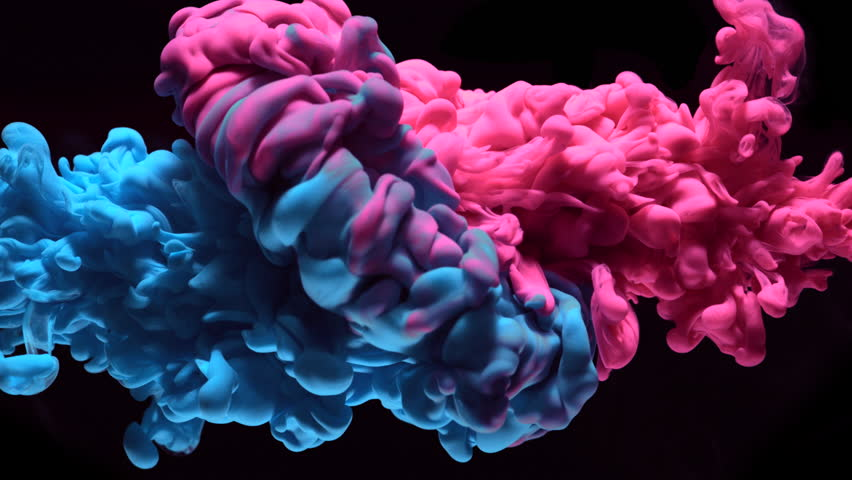 Ink in water. Slow Motion. Shot with high speed camera, phantom flex 4K. Slow Motion. | Shutterstock Video #22151917