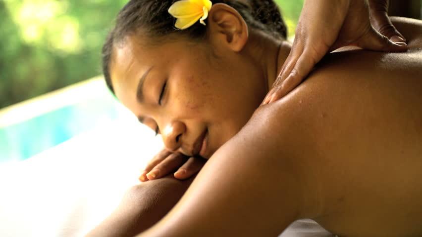 Asian natural healing massage