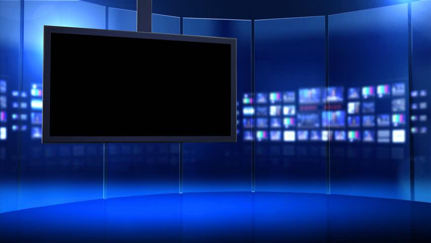 Virtual Tv Studio Series 1 To 30 Stock Footage Video