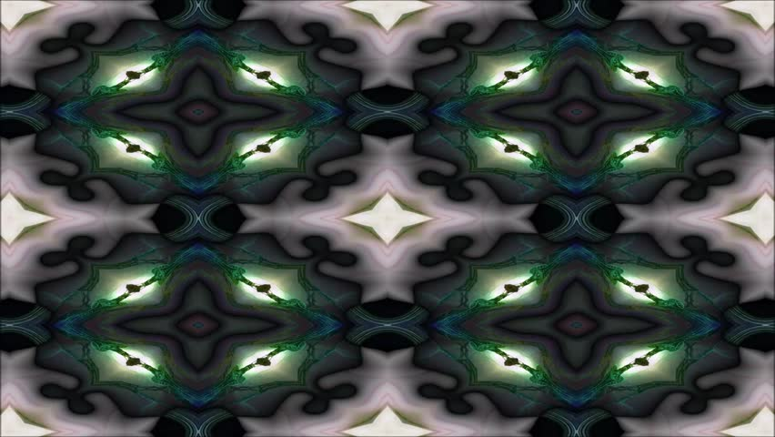 Kaleidoscopic wallpaper seamless loop animation | Shutterstock HD Video #22609060