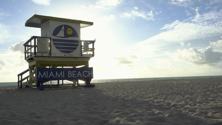 Beach House Scene
