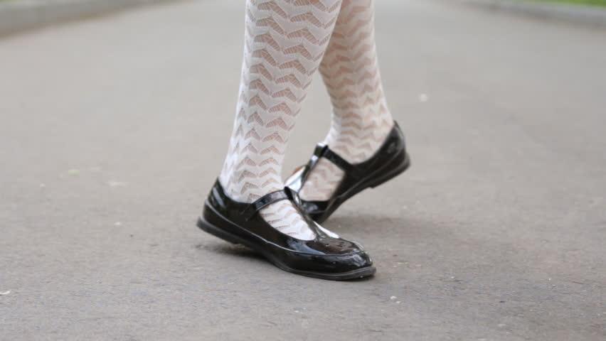 Knee Socks Stock Footage Video - Shutterstock-1345