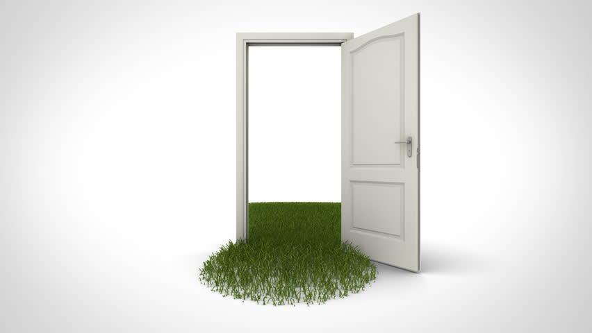 People Opening Doors : Opening door to heaven stock footage video