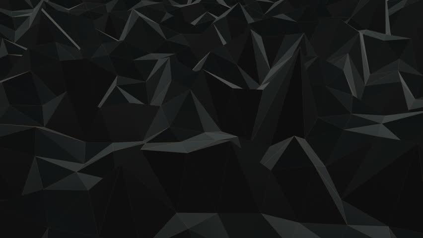 Black seamless animated background loop