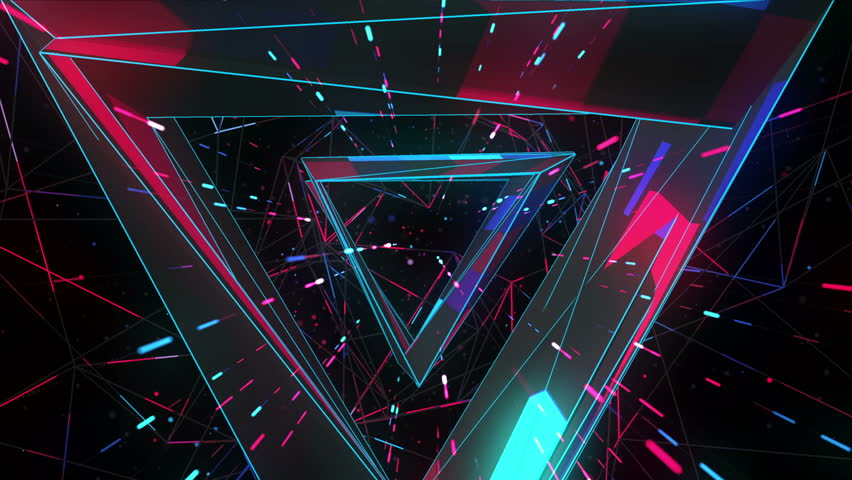 Flight into cosmic web structure seamless VJ loop for music videos, night clubs, audiovisual show and performance, LED screens and projection mapping | Shutterstock Video #24071284