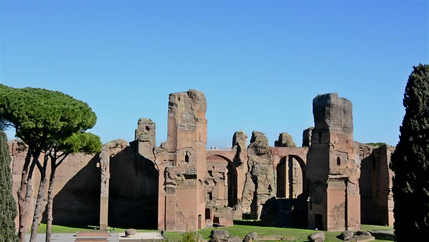 the baths of caracalla A new museum has been created under the baths of caracalla in rome it accommodates a collection of valuable but forgotten archaeological finds.