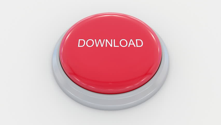 Pushing big red button with download inscription. Conceptual 4K clip | Shutterstock HD Video #24200071