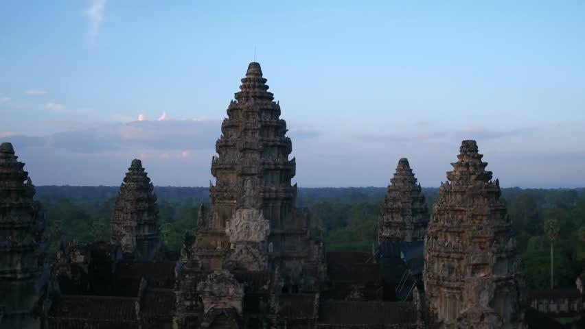 fly over angkor wat 7 | Shutterstock Video #24406805