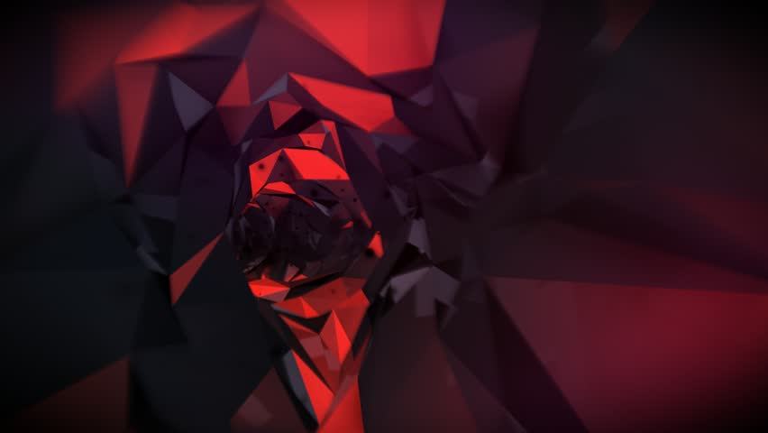 Seamlessly Looping Background Animation Of Tunnels With Speed And Purpose.