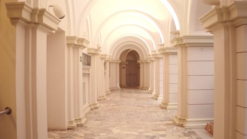 Header of passageway