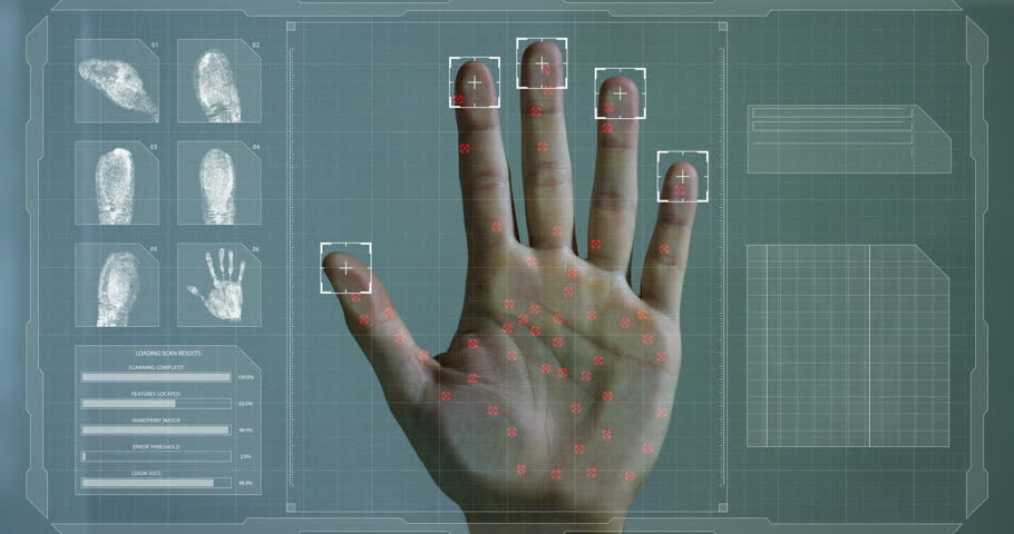 biometrics hand and fingerprints Guidelines for preparation of fingerprint cards fingerprints on back of fingerprint card area to select hand being printed.