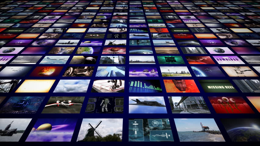 Video Wall Media Streaming Hd Stock Footage Video 1789433 -5927