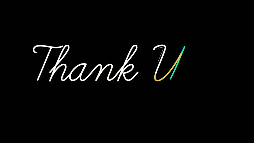 Hd >> Thank you note Footage | Stock Clips