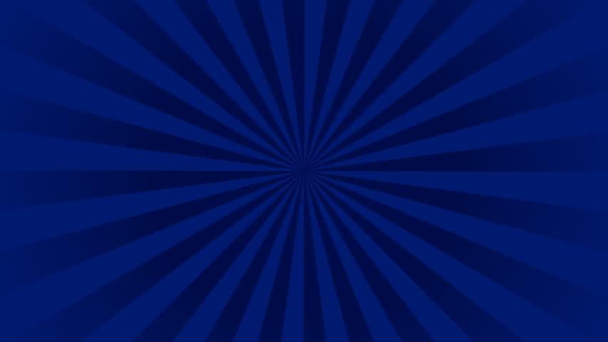 Medium Royal Blue Radial Rays Background 30 Sec Loopable