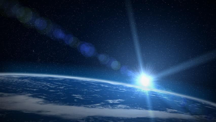 Earth sunrise, HD