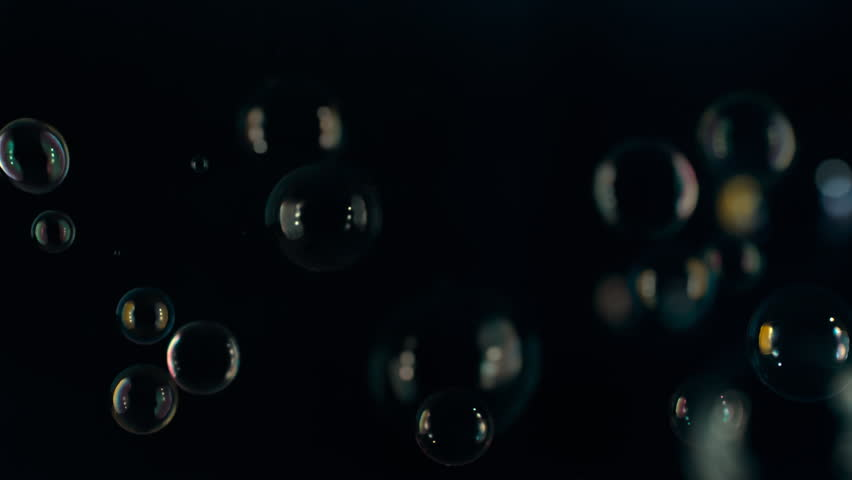 Slowmotion Bubbles floating in the air | Shutterstock HD Video #25742177